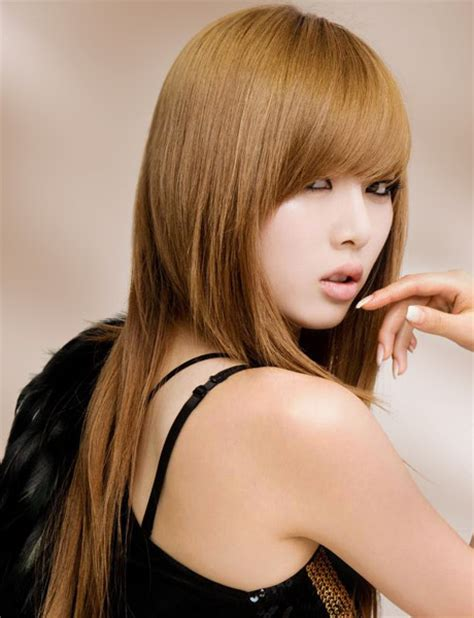 hair style female latest korean hairstyles for women 2015 images