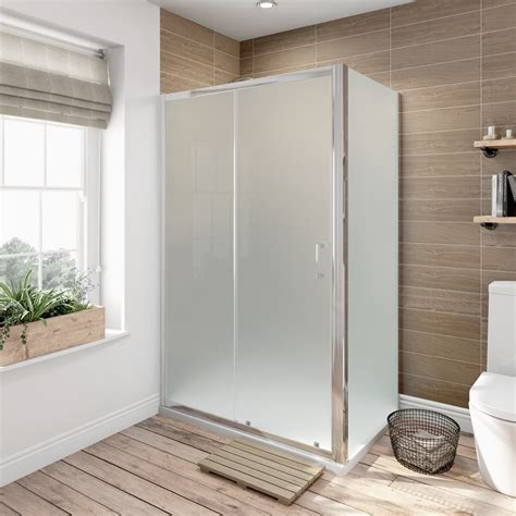A 700 Shower by 6mm Sliding Shower Enclosure 1200 X 700 With Shower Tray