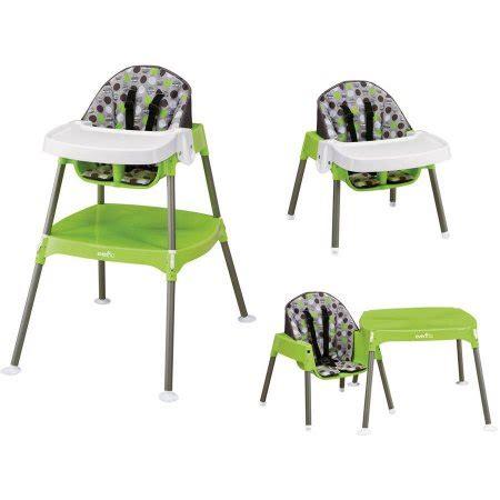 Walmart Evenflo High Chair by Evenflo Convertible High Chair Dottie Lime Walmart