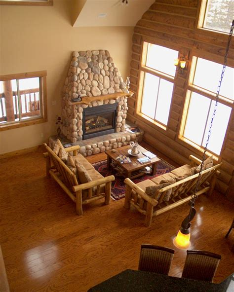 comlog cabin homes interior crowdbuild for wclh gallery