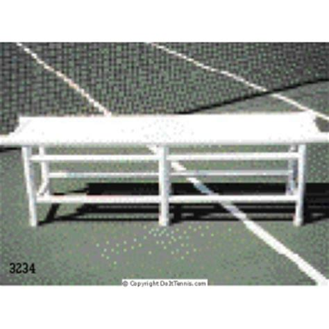 pvc benches pvc pro bench from do it tennis