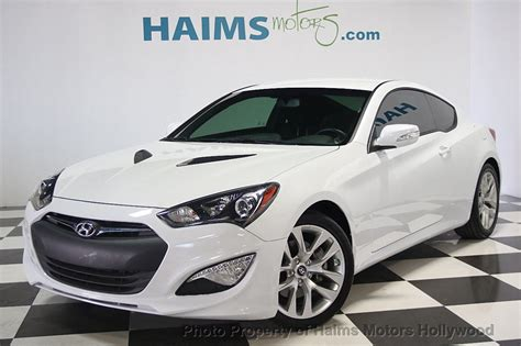 genesis coupe automatic 2016 used hyundai genesis coupe 2dr 3 8l automatic w black