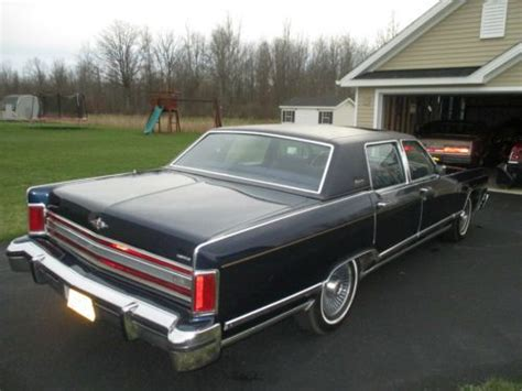 buy   lincoln continental town car collector