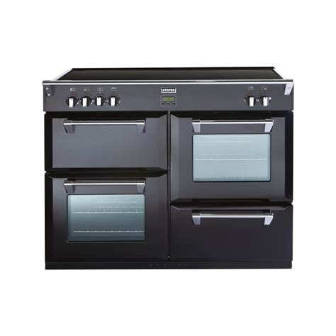 electric induction freestanding cookers stoves richmond 1000ei 100cm electric induction range cooker black stoves from powerhouse je uk