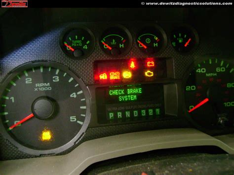 2003 ford focus instrument cluster lights can communication failure causes theft intermittent no start