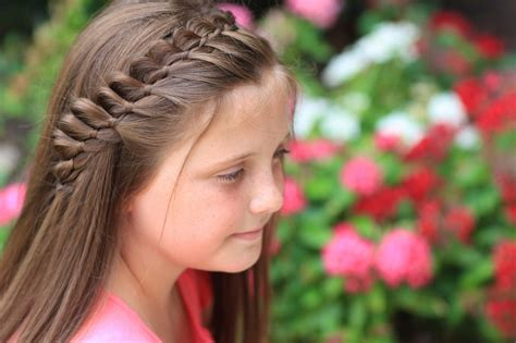 cute girl hairstyles how to french braid 4 strand french braid easy hairstyles cute girls