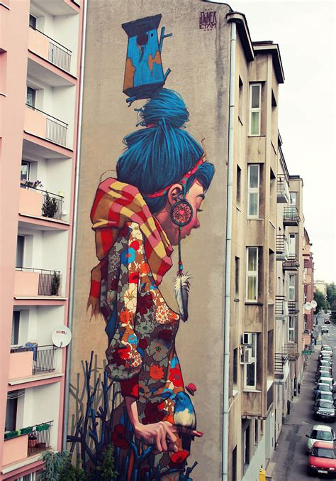 Monkey Wall Murals etam cru brightens city walls with epic colorful street