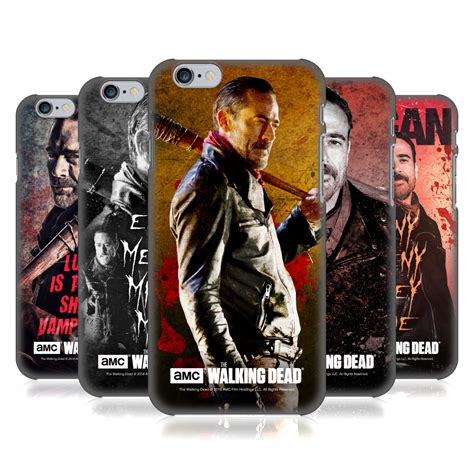 The Walking Dead Casing Iphone 7 6s Plus 5s 5c 4s Cases Samsung 11 official amc the walking dead negan back for
