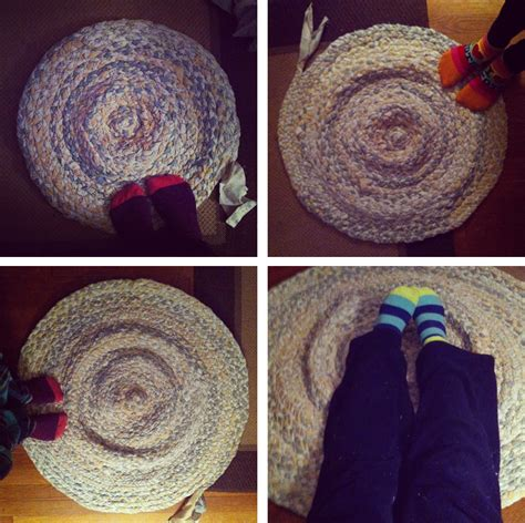 braided rug tutorial diy rug spoonful of imagination