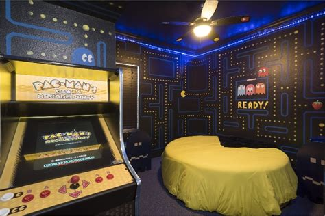 games for the bedroom the pac man bedroom at the great escape lakeside