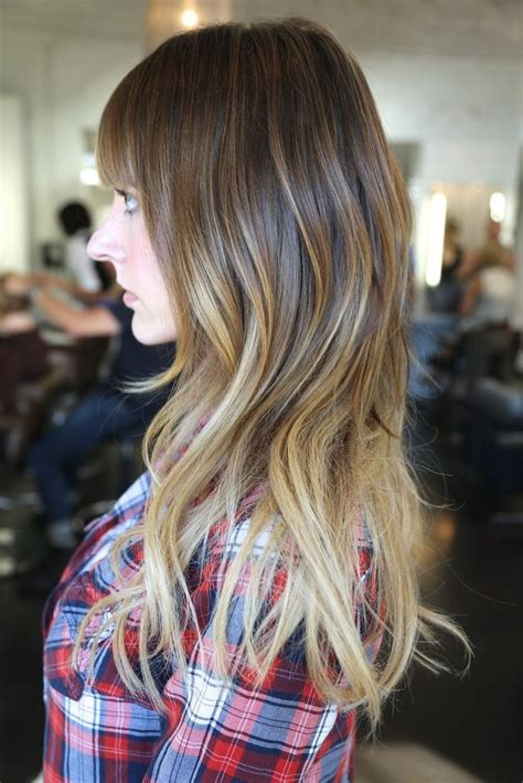 28 best images about hair with bangs add ombre highlights on ombre