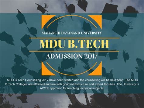 Mdu Mba Entrance 2017 Date by Mdu B Techadmission 2017 Authorstream