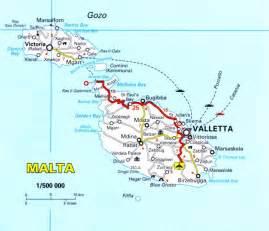 Malta map romania maps and views