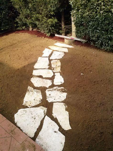 camminamento giardino muretti e camminamenti per giardini trifolium vicenza