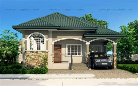 cheap house plans designs atienza one story budget home shd 20115022 pinoy eplans
