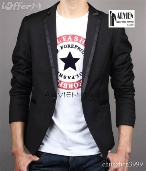 Jaket Jas Blazer Pria Modern Hitam by 86 Best Model Blazer Pria Korea Terbaru Images On