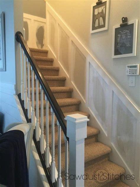 board  batten   stairwell sawdust  stitches