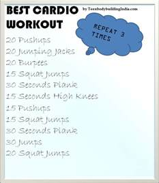 Best Home Workout by Best Cardio Workout Routine At Home Eoua