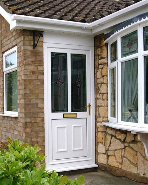 Outside Doors by French Style White Upvc Opening Outside Doors China