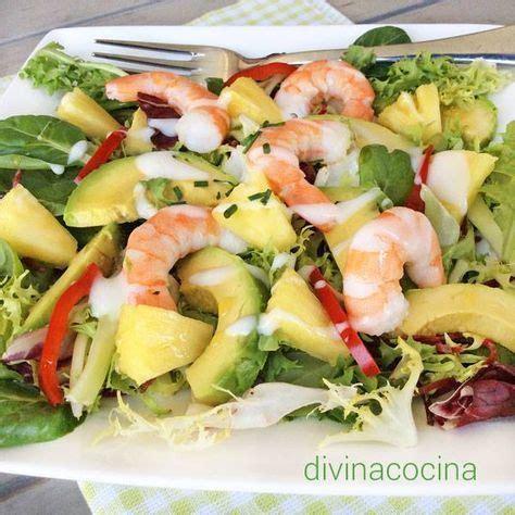 divina cocina recetas receta de ensalada tropical restaurante pinterest