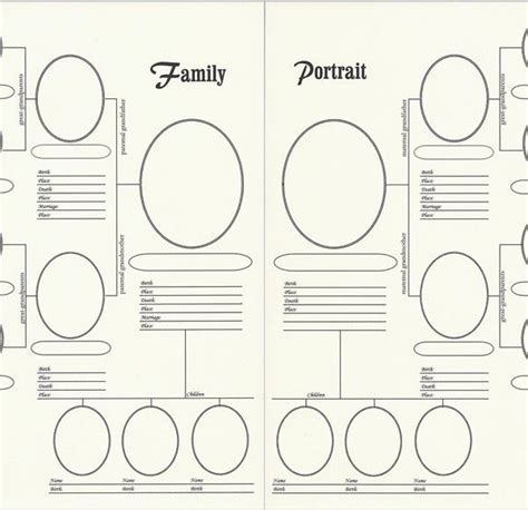 forms family tree chart 230 best family tree charts forms images on pinterest