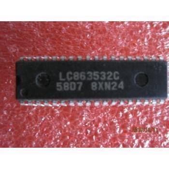 Ic Program Tv electronic component datasheet ic lc 863532c ic