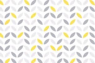 Yellow Kids Bathroom - yellow and grey abstract flower pattern wallpaper murals wallpaper