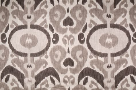 bold curtain fabric braemore big bold printed cotton drapery fabric in pewter