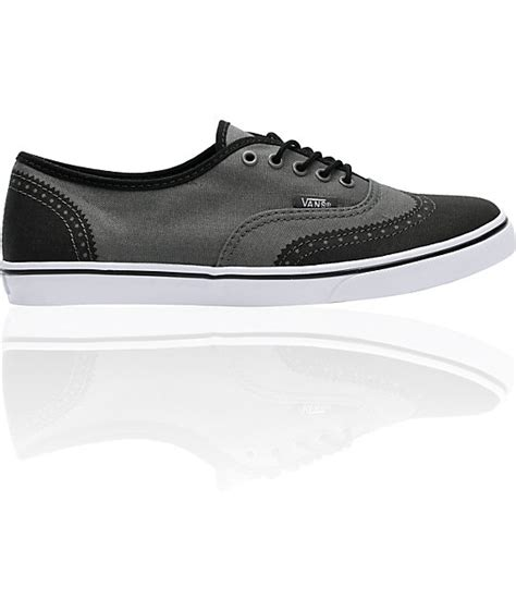 printed oxford shoes vans authentic lo pro grey printed oxford shoes zumiez