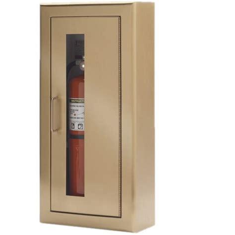 custom wall mount extinguisher cabinets