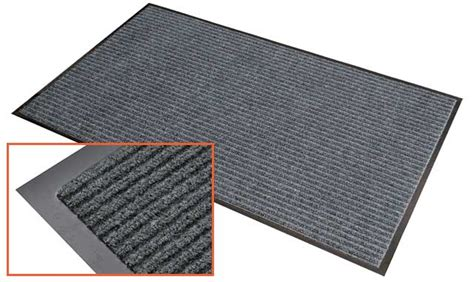 Commercial Mat by Mattek Ribbed Indoor Commercial Entrance Mat 900 X