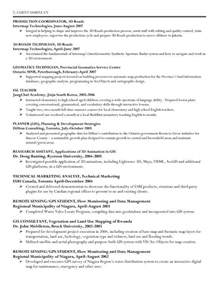 Gis Resume Template by Gis Geographic Information System Specialist Resume