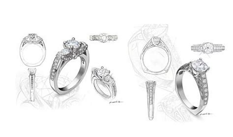 Custom Designed Jewelry by Custom Jewelry Designs Le Paveh