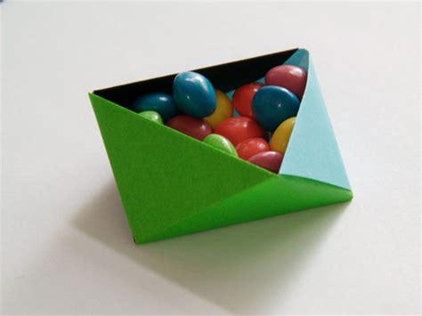 Triangle Origami Box - origami boxes