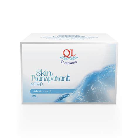 Sabun Lulur Ql transparant soap