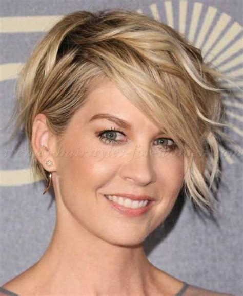 jenna elfman undercut back view short haircuts for wavy hair the best short hairstyles