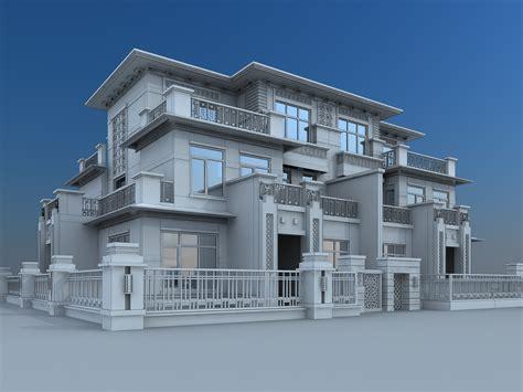 Model Maxy villa building 3d model max cgtrader