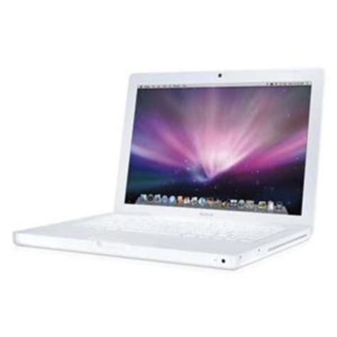 Laptop Apple Macbook White 2 1 refurbished white apple macbook laptop 13 3 quot 2ghz 1gb mb061b a