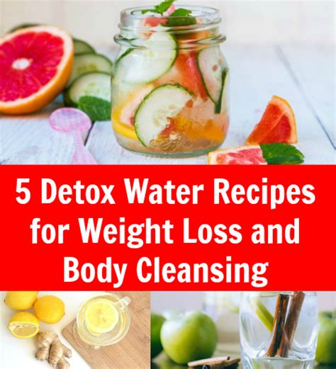 Detox Water Recipe For Weight Loss In by 5 Detox Water Recipes For Weight Loss And Cleansing