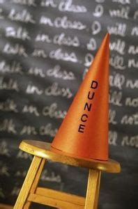 How To Make A Dunce Cap Out Of Paper - how to make a dunce hat out of paper hats and paper