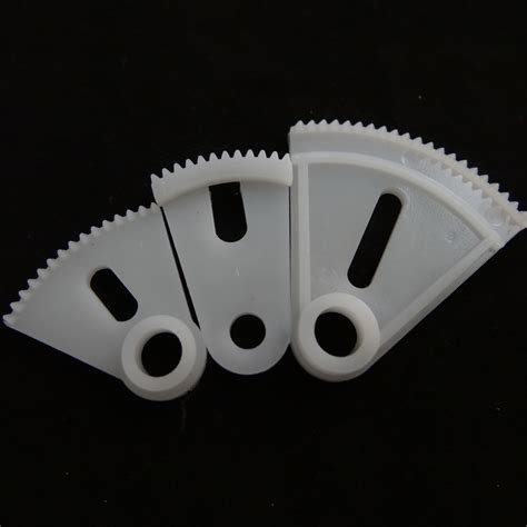 Plastic Rack And Pinion by 3 Kinds Of Plastic Sector Gears Fan Shaped Allotype Gear