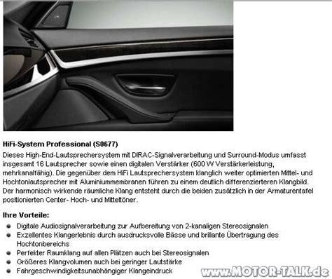Motorrad Lautsprecher Forum by Hifi Pro 5er F11 Hifi System Oder Nicht Bmw 5er F07