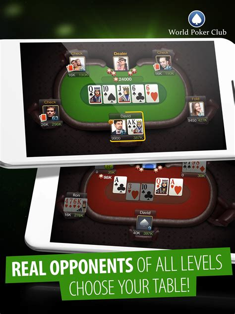 poker games world poker club  android apk