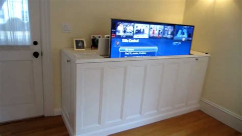 build your own tv lift cabinet 5677 tv lift cabinet doovi