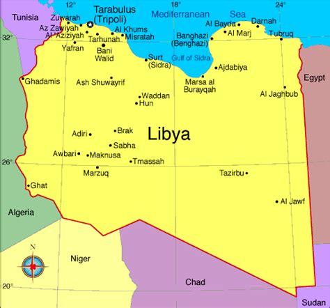 middle east map libya libya middle east studies center resources for educators