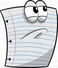 How To Make A Paper Animation - clipart an angry white paper