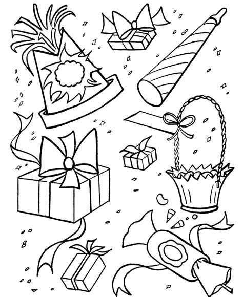coloring pages for birthday party free birthday coloring pages for kids az coloring pages