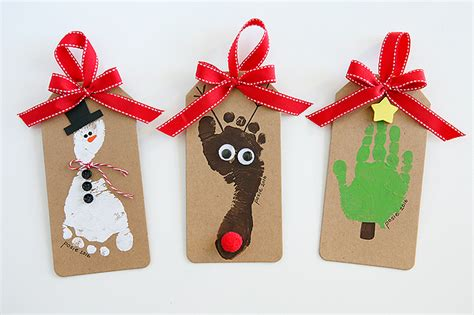 footprint christmas ornaments eighteen25 bloglovin