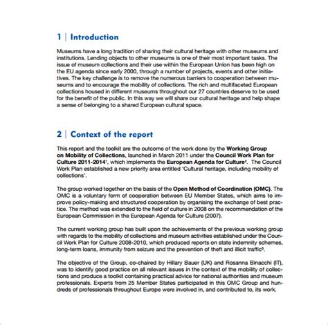 ceo report template executive report template 9 free documents in pdf