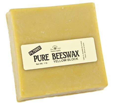Beeswax Candle Block Choose Scent stakich 1 lb yellow beeswax block craft candle kit on